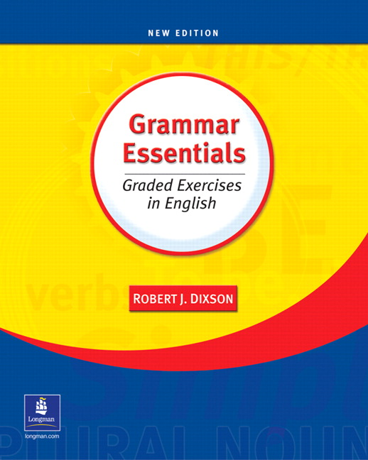 Grammar Essentials Graded Exercises in English – Pearson ELT USA